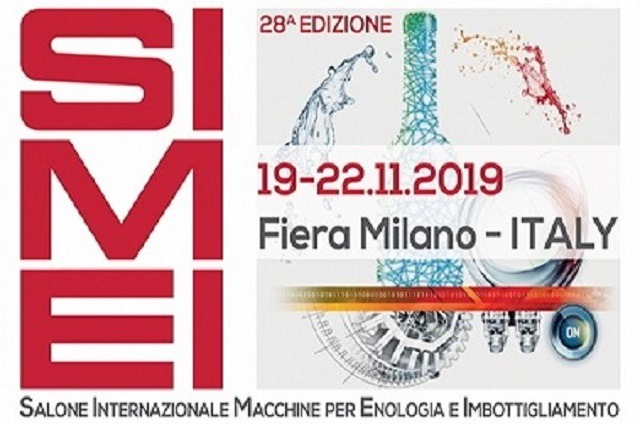 SIMEI 2019 Fiera Milano - Come visit us at Pad.15 - Stand A01 B02